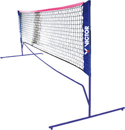 Černá síť na badminton Victor - délka 300 cm
