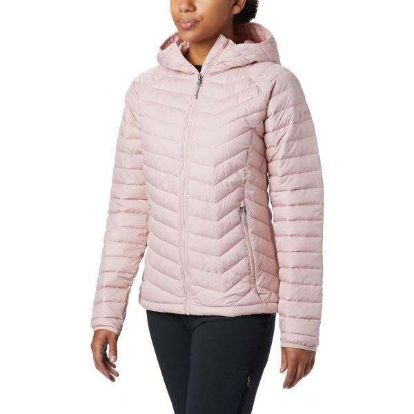 Růžová dámská bunda Columbia - velikost XS
