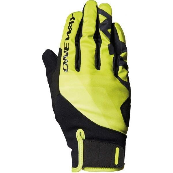 Zelené rukavice na běžky One Way - velikost 11