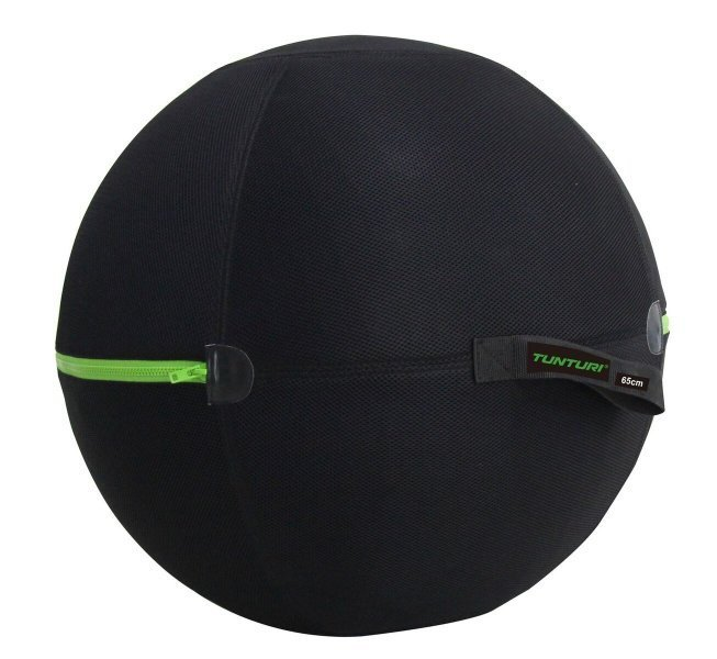 Černý gymnastický míč Tunturi