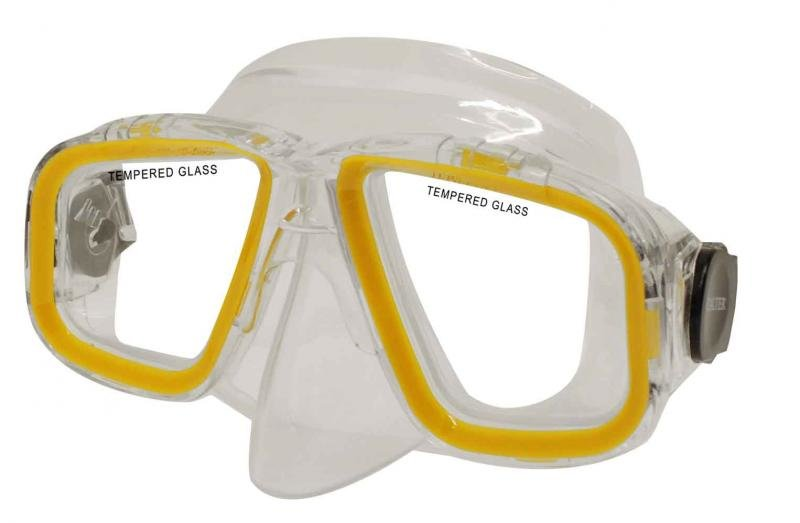 Potápěčská maska - Potápěčská maska CALTER SENIOR 229P, žlutá