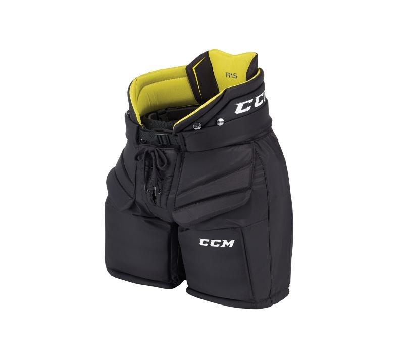 Modré brankářské hokejové kalhoty - junior CCM - velikost L