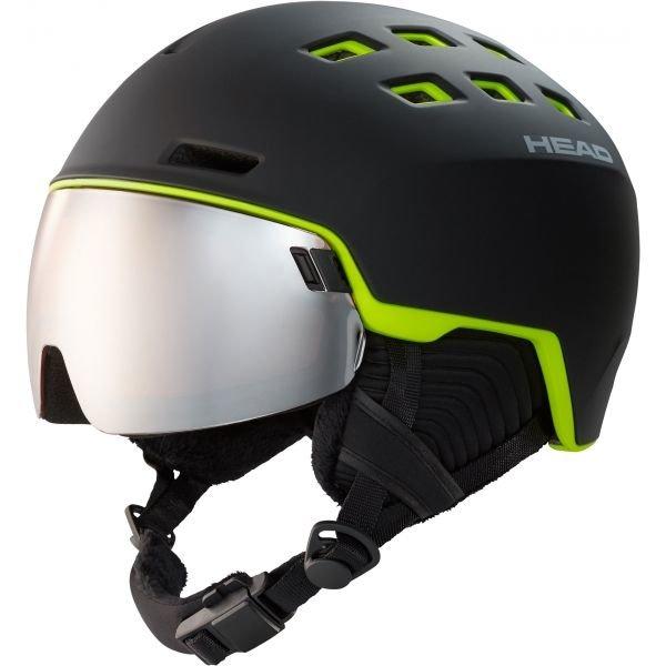 Černá pánská lyžařská helma Head - velikost 60-63 cm