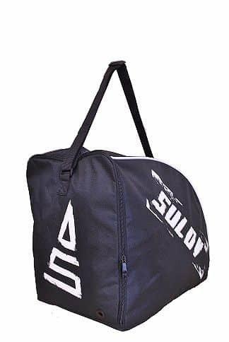 Černá taška na lyžařské boty pro 1 pár Sulov