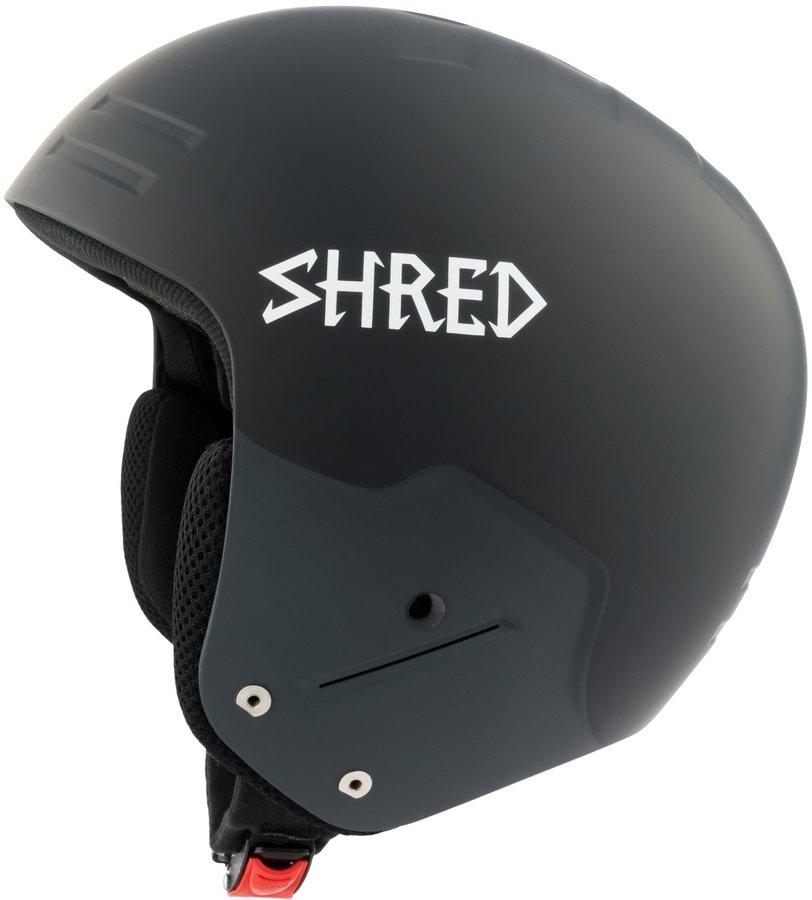 Černá pánská helma na snowboard Shred - velikost S