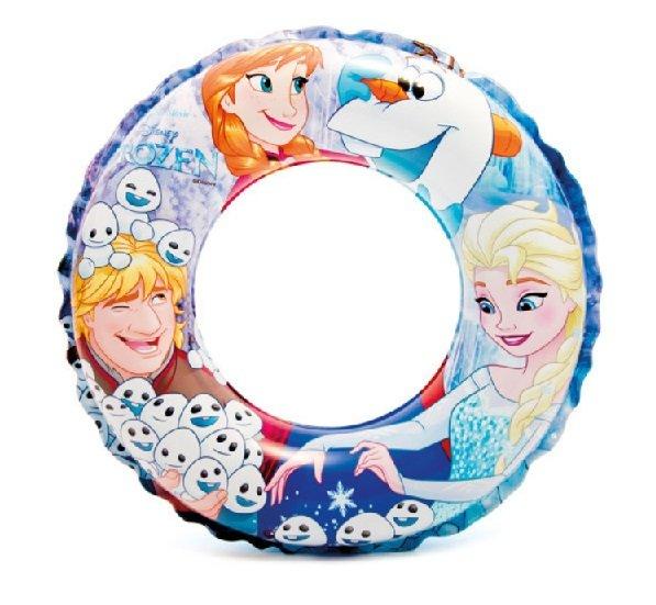 """Různobarevný dětský nafukovací kruh """"Frozen"""", INTEX - průměr 51 cm"""