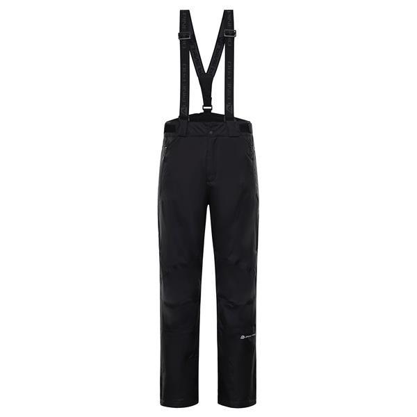 Černé pánské lyžařské kalhoty Alpine Pro - velikost XS