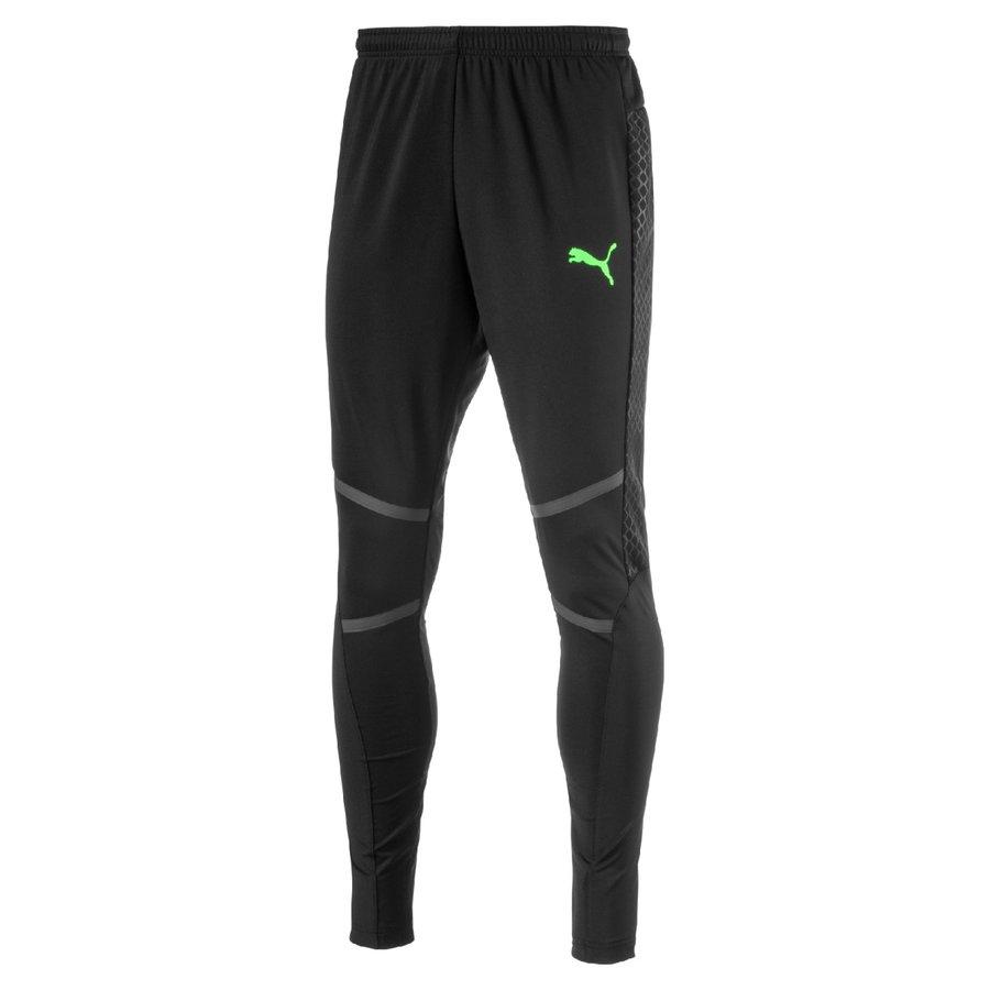Černé pánské fotbalové kalhoty Puma - velikost M