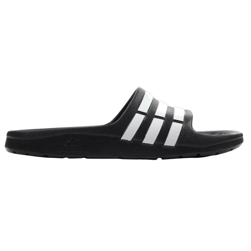 Černé dětské pantofle Adidas - velikost 31 EU