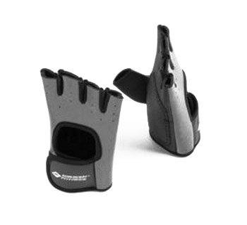 Černo-šedé fitness rukavice Schildkröt - velikost M