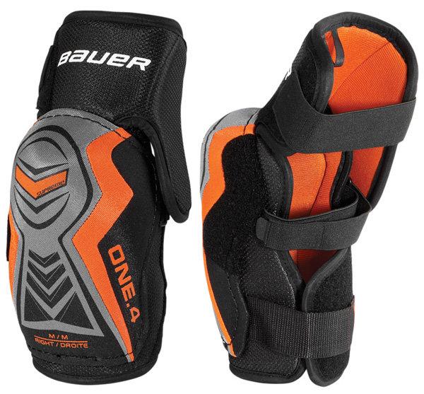 Hokejový chránič loktů - Lokty Bauer Supreme ONE.4 Junior Velikost: L