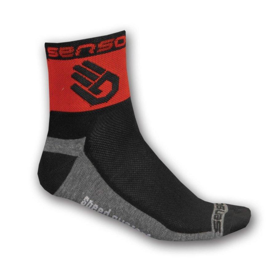 Červené pánské ponožky Race Lite, Sensor - velikost 35-38 EU