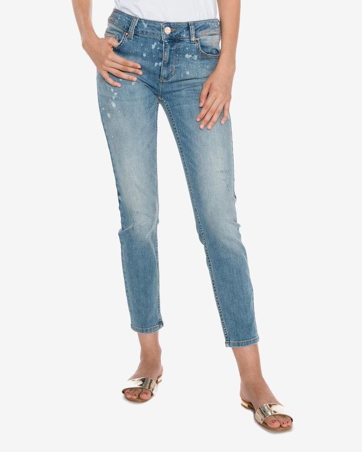 Modré dámské džíny Silvian Heach - velikost 31