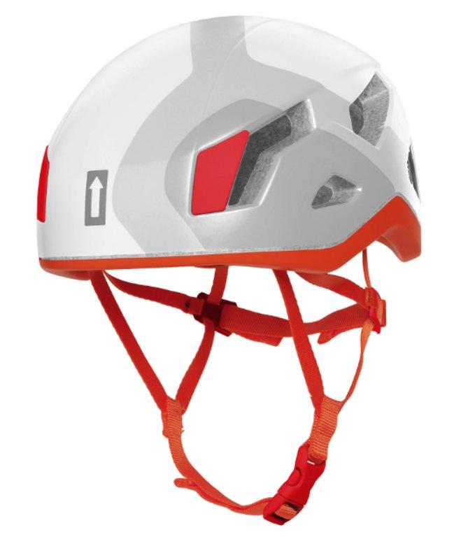 Bílá dámská horolezecká helma Singing Rock