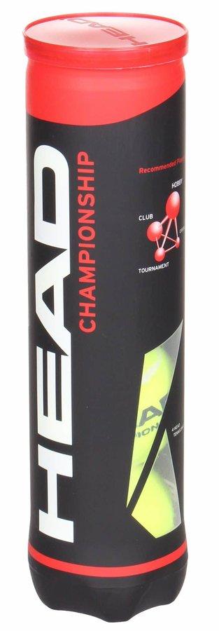 Tenisový míček - CHAMPIONSHIP tenisové míče balení: 4 ks