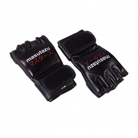 Černé MMA rukavice MASUTAZU - velikost L