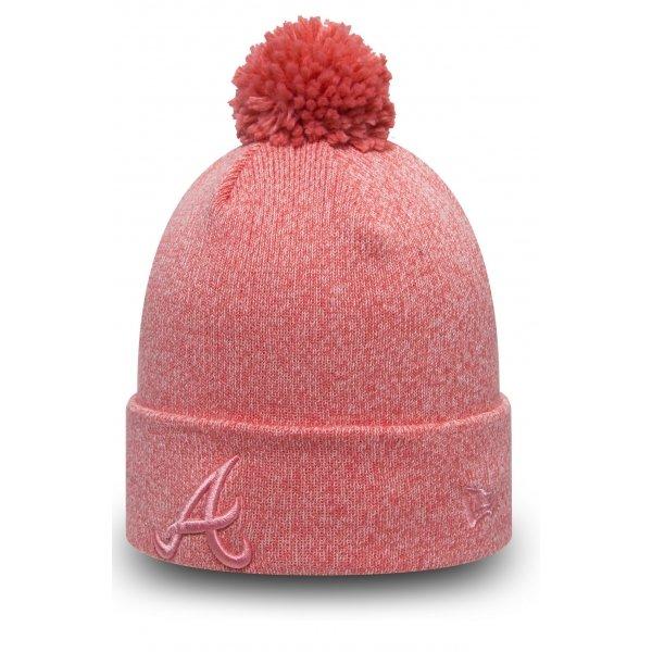 Růžová dámská zimní čepice New Era - univerzální velikost