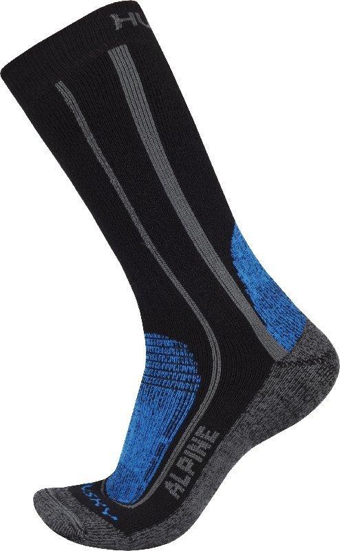 Modré pánské trekové ponožky Husky - velikost 36-40 EU