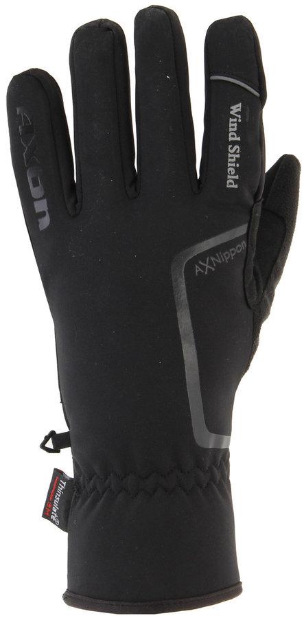 Černé dámské běžecké rukavice Axon