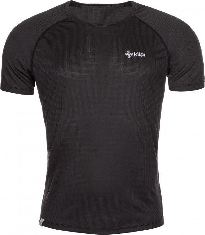 Černé pánské běžecké tričko Kilpi