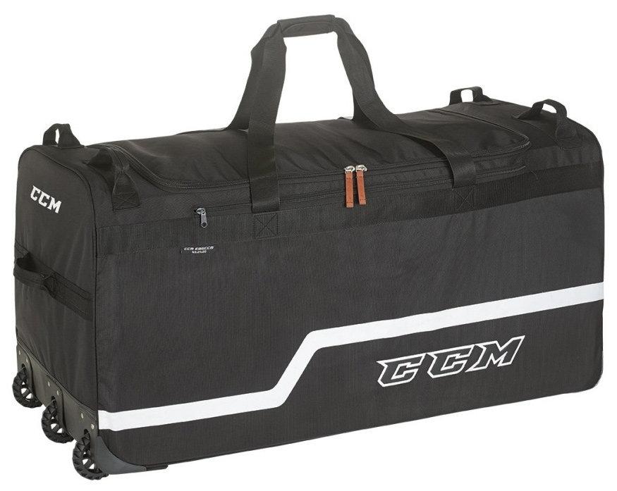 Brankářská taška - Brankářská taška CCM Goalie Wheel Bag Junior Barva: černá