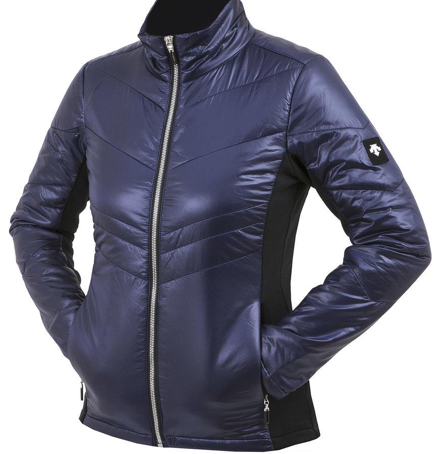 Modrá dámská lyžařská bunda Descente - velikost 40