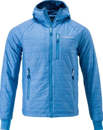 Modrá pánská bunda na běžky Silvini