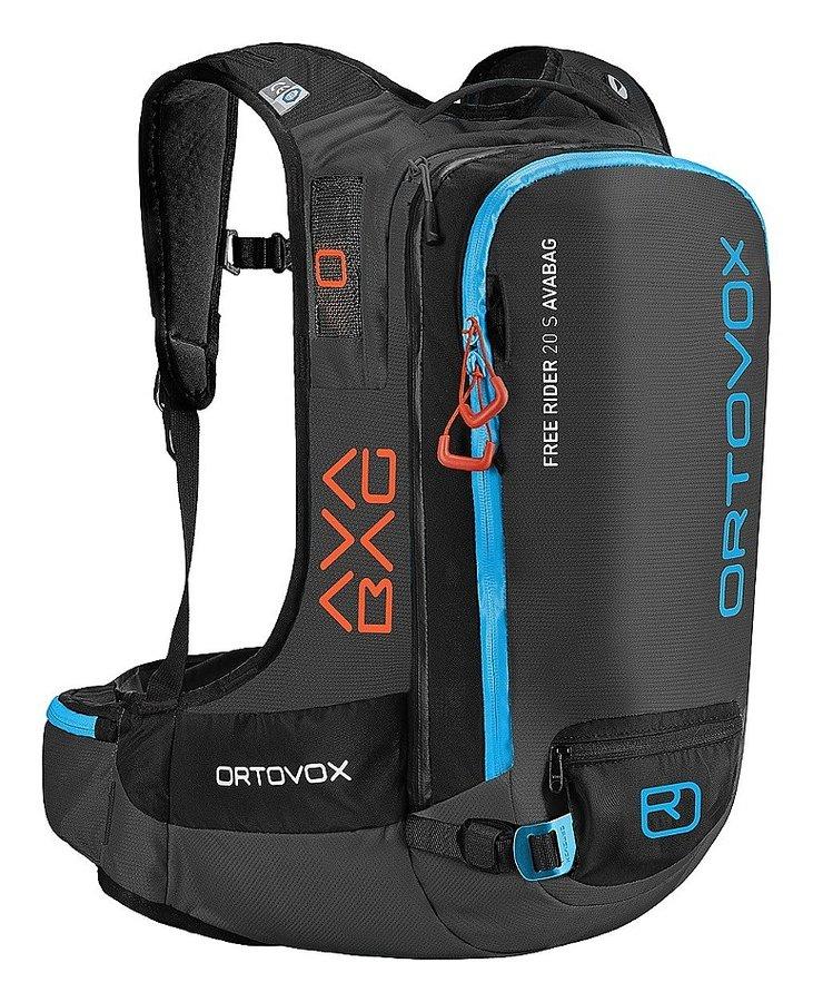 Černý lavinový skialpový batoh Ortovox - objem 20 l