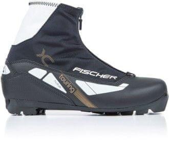 Černé boty na běžky Fischer