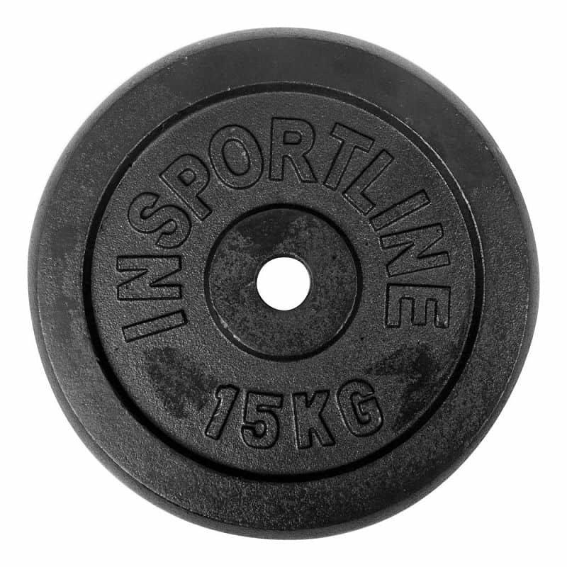 Kotouč na činky inSPORTline - 15 kg
