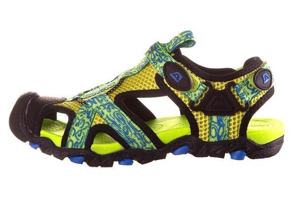 Žluté dětské sandály Alpine Pro