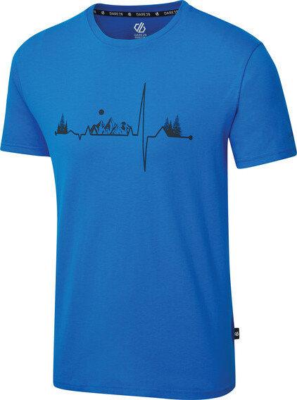 Modré pánské tričko s krátkým rukávem Dare 2b - velikost S