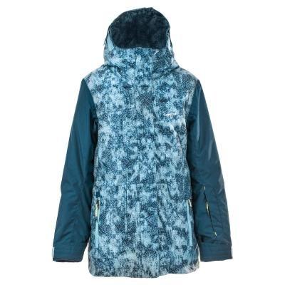 Modrá dětská dívčí bunda Wed'ze