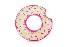 Různobarevný nafukovací kruh Donut INTEX