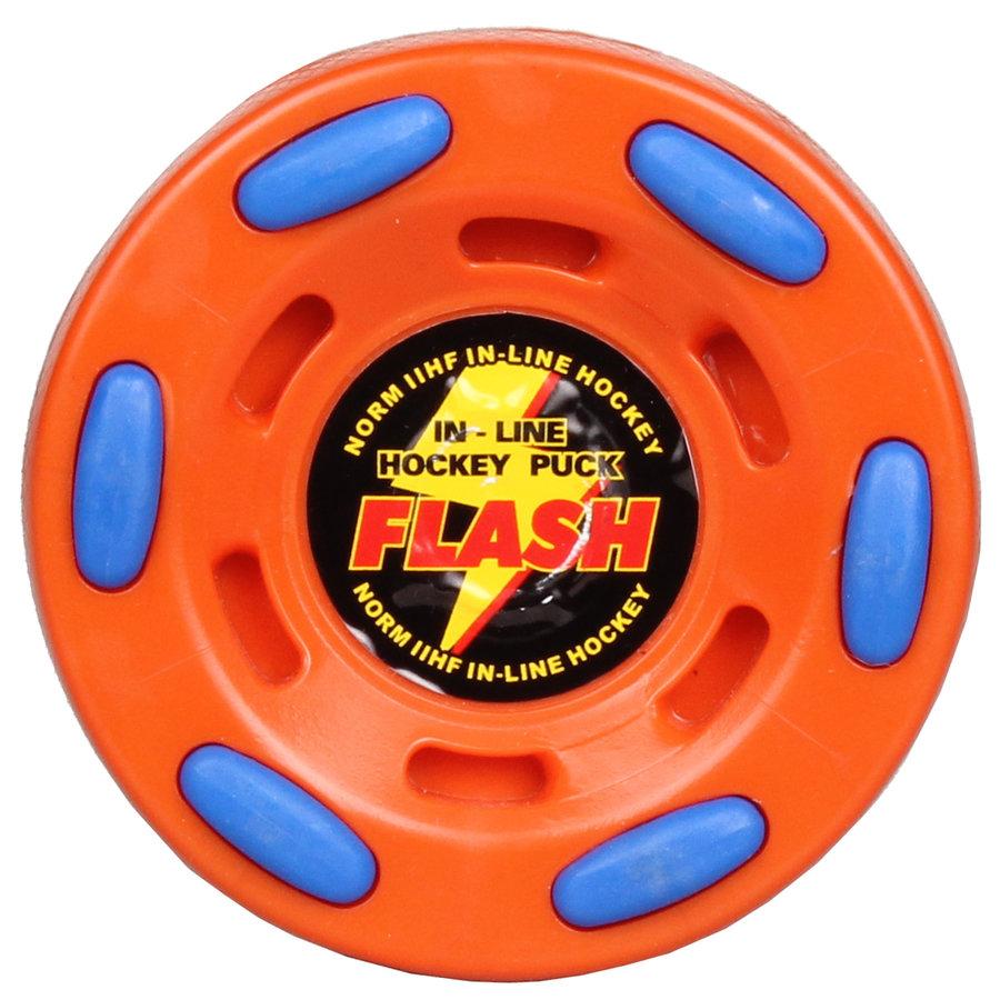 Oranžový puk na in-line hokej Flash