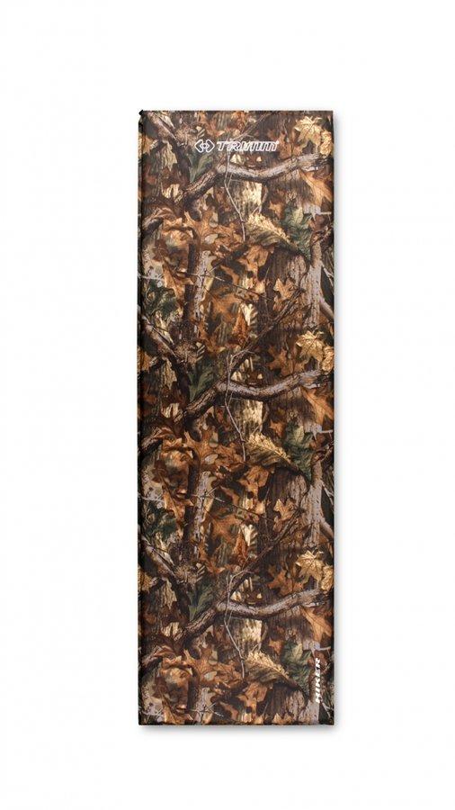 Hnědá samonafukovací karimatka Trimm - tloušťka 2,5 cm