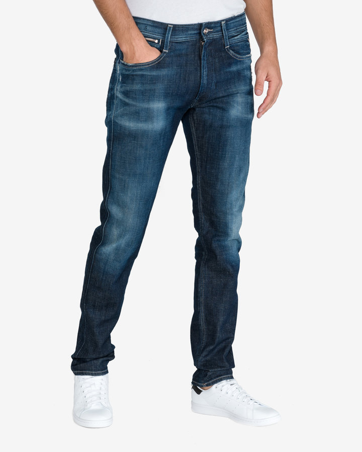 Modré pánské džíny Replay - velikost 31