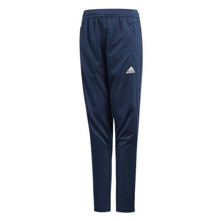 Modré chlapecké nebo dívčí fotbalové kalhoty Adidas - velikost 140