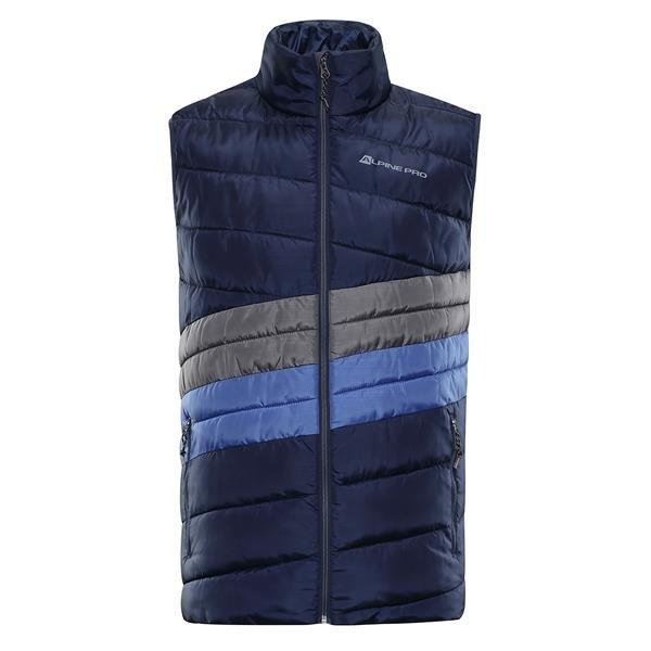 Modrá zimní pánská vesta Alpine Pro