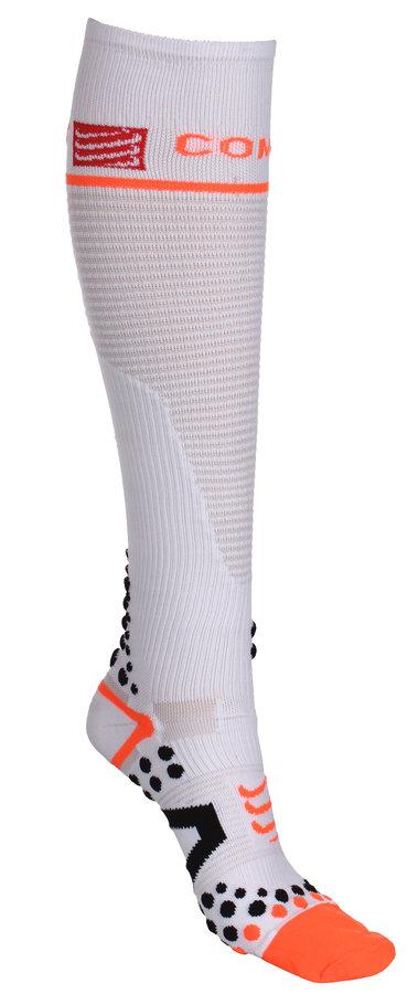 ... Bílé pánské nebo dámské kompresní podkolenky Full Socks dabd6e6450