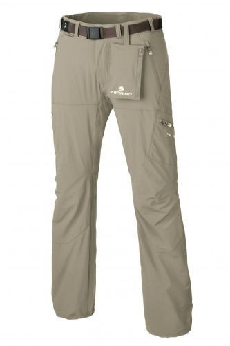 Béžové pánské kalhoty Ferrino - velikost S