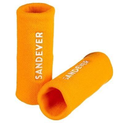 Oranžové tenisové potítko SANDEVER - 2 ks