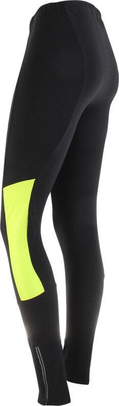 Černo-žluté dámské kalhoty na běžky Axon