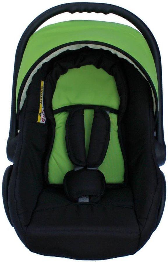 Zelená dětská autosedačka Sun Baby - nosnost 13 kg