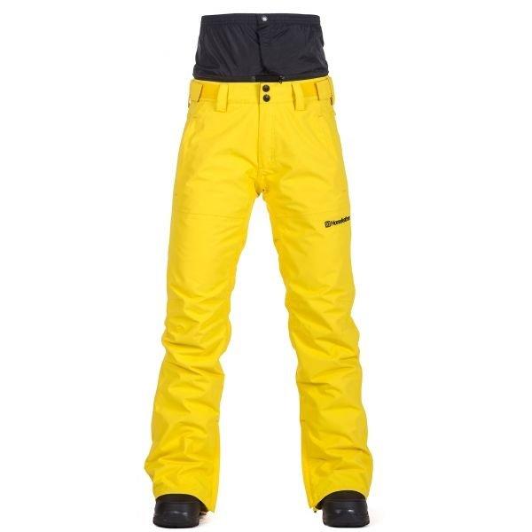 Žluté dámské lyžařské kalhoty Horsefeathers