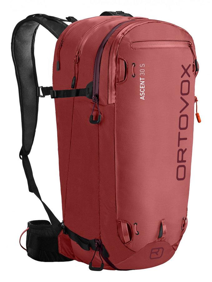 Růžový lavinový skialpový batoh Ortovox - objem 30 l