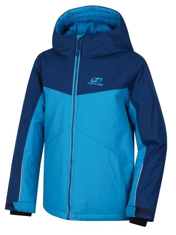 Modrá dětská lyžařská bunda Hannah - velikost 164