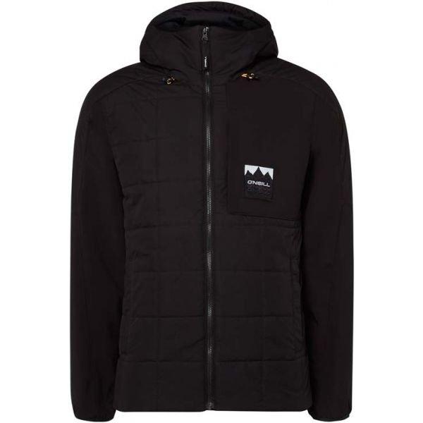 Černá zimní pánská bunda O'Neill - velikost M