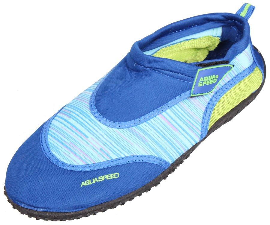 Modré nízké neoprenové boty Jadran 2, Aqua-Speed - velikost 37 EU