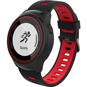 Černé chytré hodinky Active A4, iGET